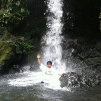 Photo taken at @Air Terjun Guci by Dado S. on 9/17/2012