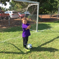 Photo taken at Edwards Soccer Field by Michelle M. on 9/9/2017