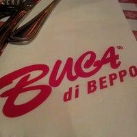 Photo taken at Buca di Beppo Italian Restaurant by Daniel K. on 11/16/2012