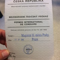 Photo taken at Registr řidičů by Nikola Č. on 4/20/2017