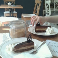 Photo taken at Chococafe Eva by Danya L. on 5/16/2013