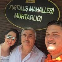 Photo taken at Kurtuluş Mahallesi Muhtarlığı by Gülsün Ş. on 7/20/2015