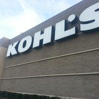 Photo taken at Kohl's Laurel by Carol Elizabeth M. on 1/5/2013