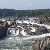 Photo taken at Great Falls Park by Carol Elizabeth M. on 8/14/2013