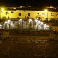 Photo taken at Plaza de San Blas by Veli A. on 11/17/2012