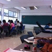 Photo taken at Colegio de Ciencias y Humanidades Plantel Oriente by Belem T. on 4/23/2013