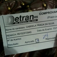 Photo taken at DETRAN/RS - Departamento Estadual de Trânsito by Gabriela F. on 10/3/2012
