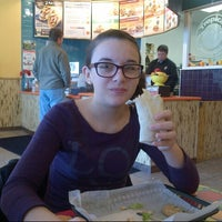 Photo taken at Tropical Smoothie Cafe by david j. on 1/19/2013