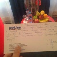 9/5/2013 tarihinde thekhan .ziyaretçi tarafından Park Inn by Radisson Astana'de çekilen fotoğraf