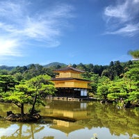 Photo taken at Kinkaku-ji Temple by Caio C. on 7/20/2013