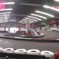 Photo taken at Interlagos karting by Paolo L. on 3/15/2014