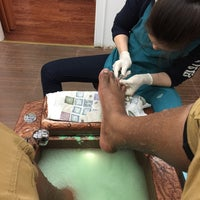 Photo taken at Shirly's Nail Salon by Shawn W. on 1/31/2015