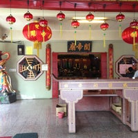 Photo taken at Chinese Temple by Liang Chong W. on 12/25/2012