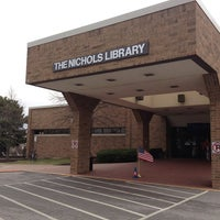 Photo taken at Nichols Library: NPL by Steve Z. on 4/9/2013