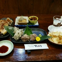 Photo taken at 新潟の地酒とうまいもの処 かもくら by Kento S. on 1/8/2017