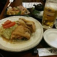 Photo taken at 新潟の地酒とうまいもの処 かもくら by Kento S. on 10/15/2016