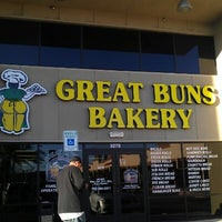 Photo taken at Great Buns Bakery by Gina M. on 10/27/2012