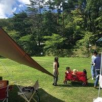 Photo taken at 郡山市営西部サッカー場 by Takuro K. on 8/11/2016