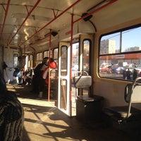 Photo taken at Трамвай № 1 by Olya on 3/23/2015