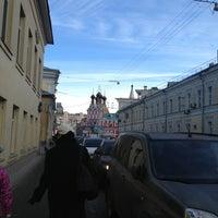Photo taken at Верхняя Радищевская улица д14/21 корп.3 by Olya on 2/27/2013