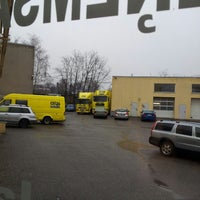 Photo taken at Auto Stils, autoserviss by Sabīne U. on 11/27/2013