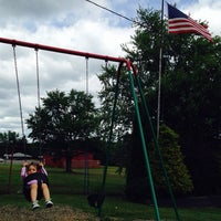 Photo taken at Healey Playground by Jim L. on 7/4/2014