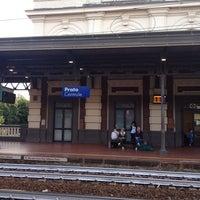 Photo taken at Stazione Prato Centrale by Konishi Y. on 6/17/2014