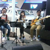 Photo taken at Chevrolet Booth - Hall C2 by Vitri S. on 6/9/2013