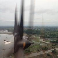 Photo taken at Aeroporto de Itaituba (ITB) by Rodrigo D. on 9/28/2012