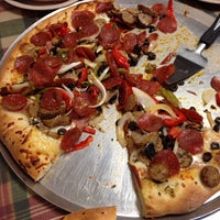Photo taken at Authentic New York Pizza by Mindy L. on 5/24/2014