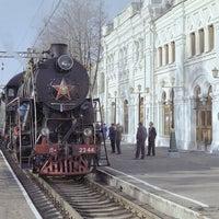 Photo taken at Rizhsky Rail Terminal by Sofia on 9/20/2012
