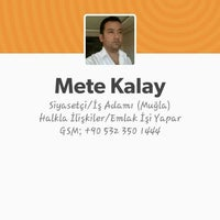 Photo taken at Mete Kalay Emlak Aracılık Hizmetleri by Mete K. on 7/17/2015