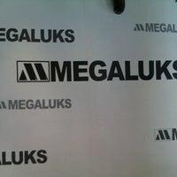 Photo taken at MegaLuks by Daina Š. on 9/14/2012