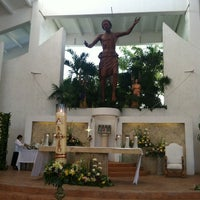 Photo taken at Parroquia de Cristo Resucitado by RJ R. on 3/31/2013