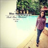Photo taken at Blue Marine Resort by Sucheera S. on 9/7/2014