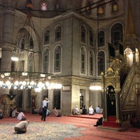 Photo taken at Eyüp Sultan Mosque by Hakan T. on 6/26/2013