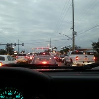 Photo taken at Tampa Rd & Forest Lakes Blvd by Jason B. on 1/29/2013