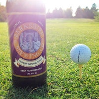 Photo taken at Alling Mem Golf Course by Justin M. on 10/25/2013