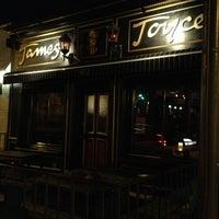 Photo taken at James Joyce Irish Pub by Andy H. on 1/1/2013