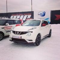 Photo taken at Nissan by Филипп on 4/12/2013