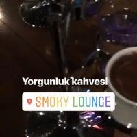 10/9/2018 tarihinde Seda N.ziyaretçi tarafından Smoky Lounge'de çekilen fotoğraf