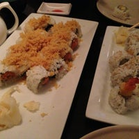 Photo taken at Marumi Sushi by Fernanda on 1/14/2013
