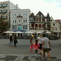 9/3/2016에 Giuliano D.님이 Marktplatz Reutlingen에서 찍은 사진