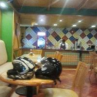 Photo taken at Sidewalk Cafe Ooty by aditya k. on 3/5/2013