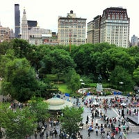 Photo taken at Union Square Park by Mark N. on 7/25/2013