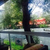 Photo taken at Lara Su Cafe - Düden Park by Seviye S. on 5/16/2015