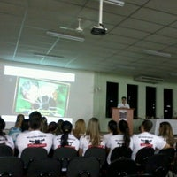Photo taken at Faculdade de Americana (FAM) by Marina A. on 10/23/2012