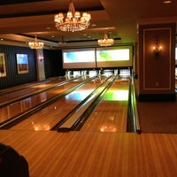 Photo taken at High Rollers Luxury Lanes & Lounge by Kenan C. on 3/1/2013