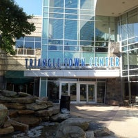 Photo taken at Triangle Town Center Mall by Marco R. on 9/15/2012
