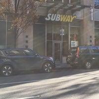 Photo taken at Subway by Josh v. on 11/8/2016